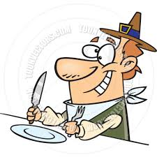 thanksgiving meal clipart cartoon thanksgiving dinner by ron leishman toon vectors eps 10442
