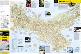 Panama City Map Panama National Geographic Adventure Map National Geographic