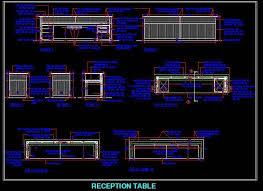 Reception Desk Cad Block Tag Help Desk Plan N Design