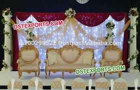 Wedding Stage Chairs List Manufacturers Of Wedding Stage Sofa Set Chair Buy Wedding
