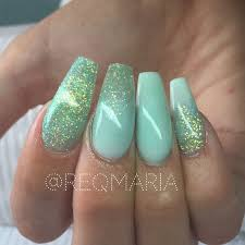 best 20 mint acrylic nails ideas on pinterest ongles turquoise