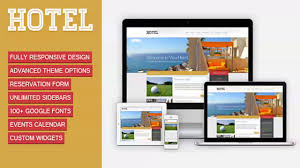 viva hotel premium responsive wordpress theme website