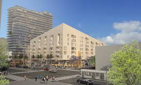 downtown long beach development includes apartments offices and