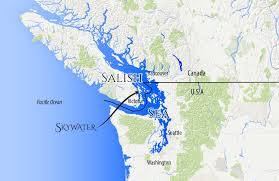 Map Of Bc Map Of Washington State And British Columbia Canada You Can See