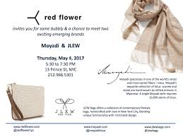Emerging Brands For A Cause Join Us At Red Flower U2013 Jlew Bagsjlew Bags