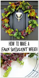 How To Make A Moss Wall by Best 25 Faux Succulents Ideas On Pinterest Succulent Wreath
