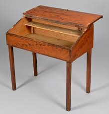 Tall Writing Desk by Lot 280 American Paint Decorated Writing Desk