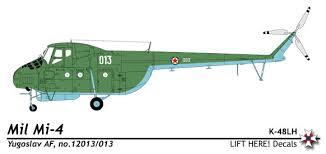 Wings Palette Mil Mi 2 by Wings Palette Mil Mi 4 Z 5 Hound Yugoslavia