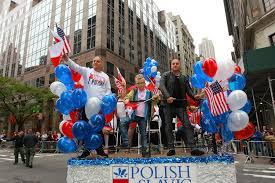 Flag Federal Credit Union Golec Uorkiestra With The Psfcu At The Pulaski Day Parade Polish