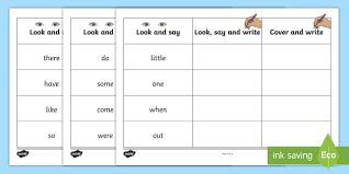 phase 4 tricky words on writing practice worksheets phase 4
