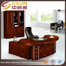 Office Table L Factory Wholesale Price Office Furniture Wooden L Shape Executive