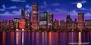 backdrops beautiful chicago skyline backdrop 2 backdrops beautiful