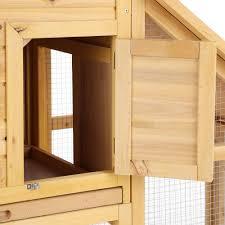 Rabbit Hutch Wood Ikayaa 55