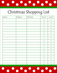 Grocery List Word Template Xmas List Template Auto Purchase Agreement Template Lean