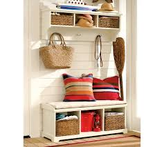 diy custom white storage bench furniture home inspirations design