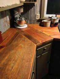 Diy Wood Kitchen Countertops Diy Reclaimed Wood Countertop Reclaimed Wood Countertop Trim