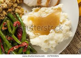 mashed potatoes and gravy stock images royalty free images