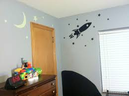 Rocket Ship Curtains by Chalkboard Paint Moon Decal Rocket Ship And Glow In The Dark