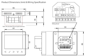 electric underfloor heating wiring diagram connecting thermostat