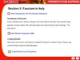 fascism italy and germany ppt video online download