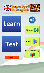 House Design Games In English Learn Food In English Android Apps On Google Play