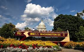 big washington dc map washington dc hour hop on hop big pass book