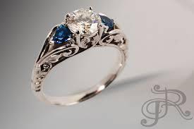 san diego engagement rings custom wedding jewelry rosestone jewelry