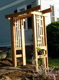diy arbor trellis the new arbor archways gates wood fences