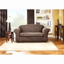 2 cushion sofa slipcovers sure fit stretch leather two piece sofa slipcover centerfieldbar com