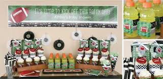 football baby shower sport themed baby shower ideas all sports party ideas big dot
