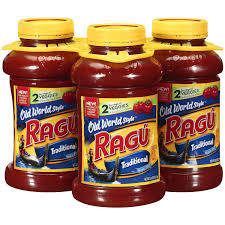 amazon com ragu traditional spaghetti sauce 3 45oz grocery