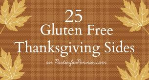 gluten free thanksgiving sides for pennies