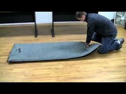alps mountaineering self inflating air pads youtube