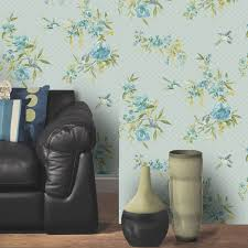 Living Room Shabby Chic Wallpaper Girls Chic Wallpaper Kids Bedroom Feature Wall Decor Various