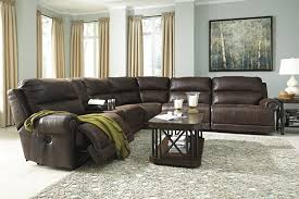 Ashley Furniture Power Reclining Sofa Reviews Buy Ashley Furniture Luttrell Espresso Reclining Sectional