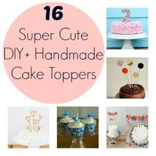 diy and handmade cake toppers for baby u0027s first birthday disney baby