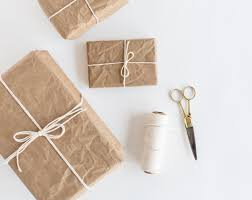 brown gift wrapping paper recycled kraft wrapping paper roll 30