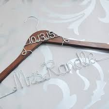 wedding dress hanger custom wedding hanger personalized bridal dress hanger with date