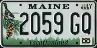 Maine State Vanity Plates Missouri License Plate Star Simplified