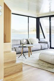 luxe home interiors victoria lake eildon houseboat by pipkorn u0026 kilpatrick interior spaces