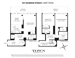 The Warren Floor Plan by 101 Warren St Nyc Apartments For Sale And Rent Citty