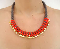 chain rope necklace diy images 2501 best collares images necklaces diy jewelry jpg