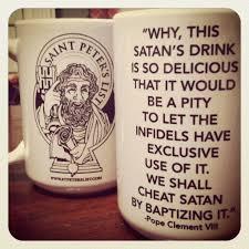 catholic shop online buy satan drink coffee catholic coffee mug online st
