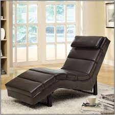 Leather Chaise Lounge Chair Faux Leather Chaise Lounge Chair Chairs Home Decorating Ideas