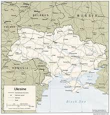 Ukraine On World Map by Wps Port Of Yuzhny Satellite Map