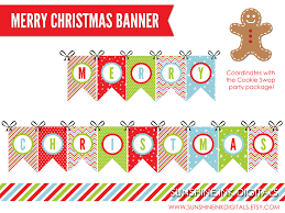 free merry christmas banner u2013 happy holidays