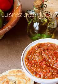 cuisiner le poivron hmiss kabyle salade de poivron tomate recettes faciles recettes