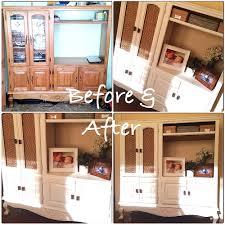 new home design center jobs repurposed tv cabinet entertainment center into storage