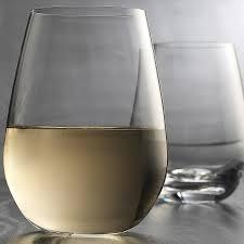 home essentials cellini premium stemless wine glasses 18 oz