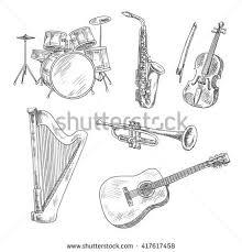 guitar sketch stock images royalty free images u0026 vectors